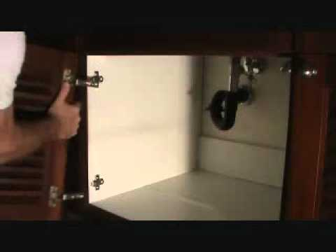 How To Remove A Cabinet Door Youtube