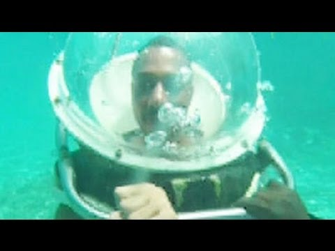 Perfect underwater walks in Mauritius with Rasik Chopra
