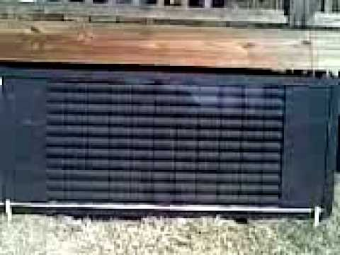 Solar furnace heat collector free energy how to total c for Tin can solar heater
