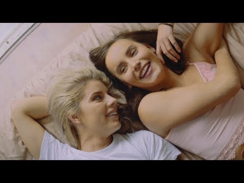 Lesbian scene in music video