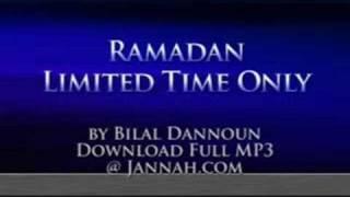Bilal Dannoun - Ramadan Limmited Time