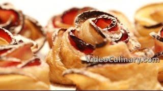 Apple Roses Recipe & Quick Homemade Puff Pastry