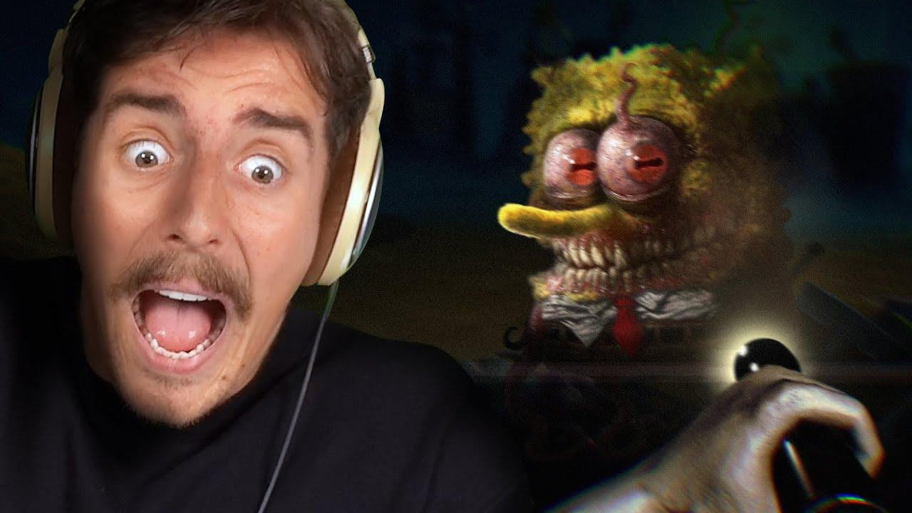 This Spongebob Horror Game is CURSED.. (Around the Clock at Bikini Bottom)