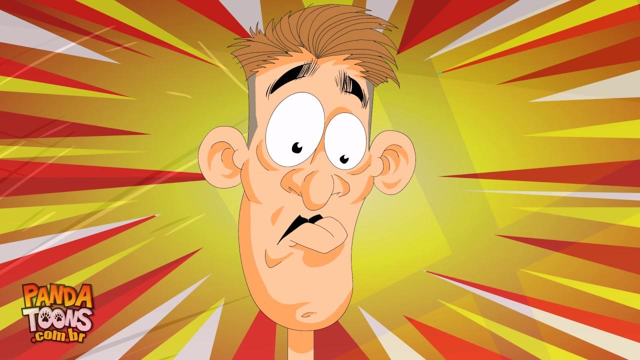 Chuck o brinquedo assassino no seu maior pesadelo - desenho animado - piada Humor Tadela