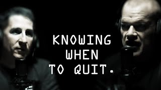 Knowing When To Quit Strategically and Tactically - Jocko Willink