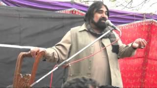Zakir Syed Zargham Abbas Shah  8 March 2015 At Dera Peer Syed Hadi Abbas Naqvi