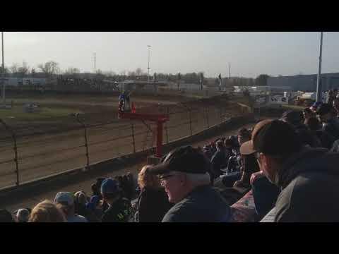 Jesse Colwell Qualifying  Kokomo Speedway