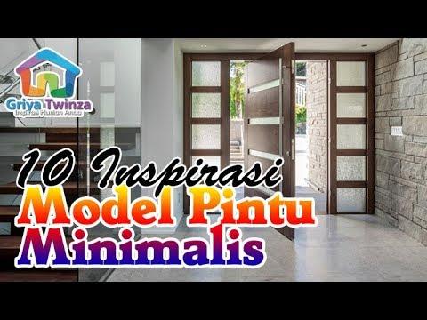 10 Inspirasi Model Pintu Minimalis untuk Rumah Kesayanganmu