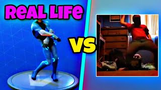 Orange Justice Dance | Orange Justice Dance in Real Life! 🍊 | Fortnite Battle Royale