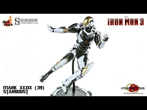 Video Review of the Hot Toys Iron Man 3: Mark XXXIX (39) Starboost