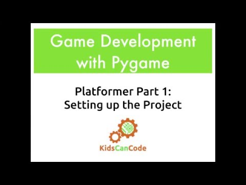 Pygame Platformer Part 1: Setting Up