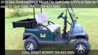 2013 Gun Rack Universal Mount Fits Golf Carts, Utv's Or Side