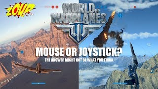 World of Warplanes - Should you use a Mouse or Joystick?