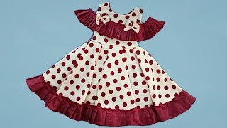 Baby dress is very elegant and simple