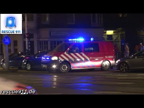 Commandowagen OvD Noord Brandweer Amsterdam-Amstelland