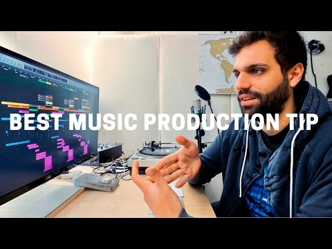 BEST MUSIC PRODUCTION TIP: WHY LESS IS MORE IN EDM