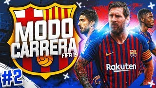 ¡PRIMER FICHAJE + FINAL PRETEMPORADA! #02 | MODO CARRERA - FC BARCELONA | FIFA 19