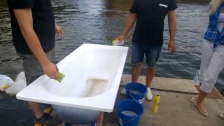 видео Эмалированные ванны