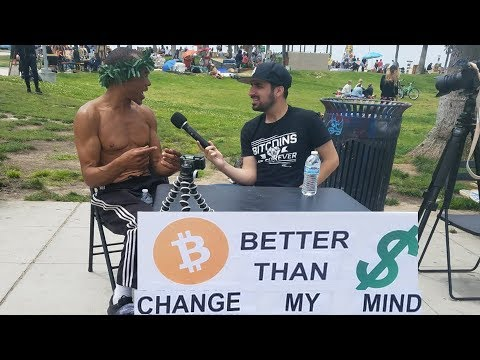 REAL CONVERSATIONS: Bitcoin Is Better Than US Dollar | Change My Mind