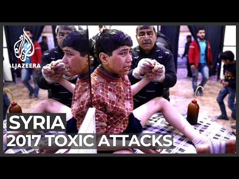 UN watchdog rules Syrian government behind 2017 toxic attacks