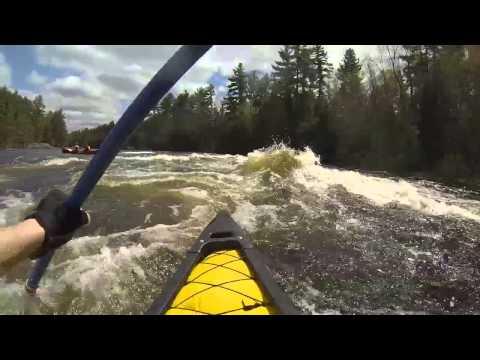 Whitewater Canoe - Lower Madawaska River (2014)