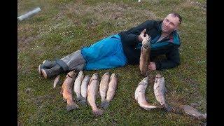 Озерная рыбалка в Исландии.
