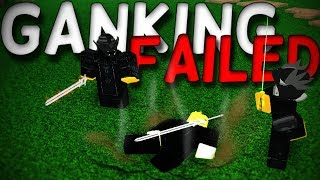 Ganking in rogue lineage (*GONE WRONG*) - Roblox rogue lineage (Episode 14)