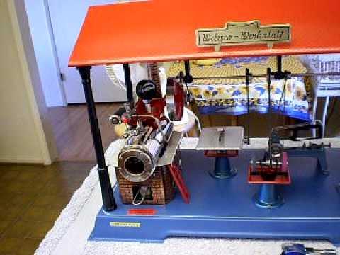 Wilesco Dampfmaschinenfabrik D141 Blechspielzeug