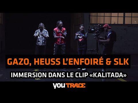 Youtube: SLK, Gazo & Heuss L'enfoiré – IMMERSION du clip«Unité»