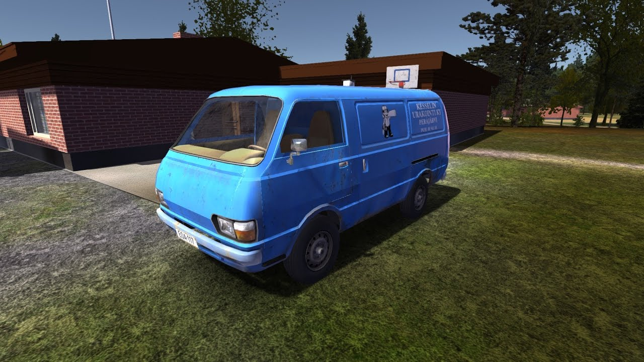 MY SUMMER CAR: How To Drive The Van