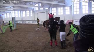 Конный спорт Кубок Федерации Пермь 110см охотничий
