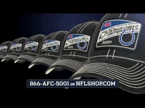 Indianapolis Colts 2009 AFC Champs NFL Shop Commercial