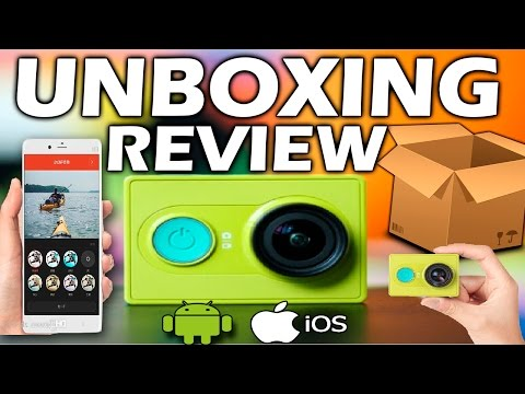 Unboxing / Review | Xiaomi Yi Sport Camera | App IOS Y Android | Cámara 1080 | 60 FPS