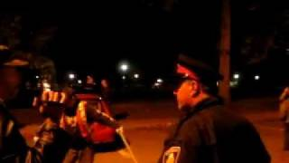 Occupy London, Ontario Supporter Pushed By London Police Officer