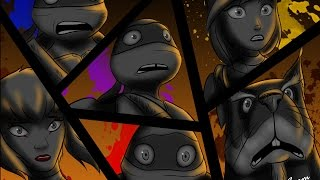 TMNT 2012 - Final -The End (Don/April, Leo/Karai, Raph, Mikey, Splinter, Shredder) Digital Art