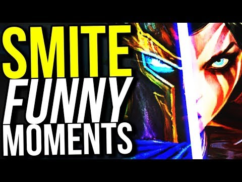 THIS COMBO IS RIDICOLOUS! - SMITE FUNNY MOMENTS