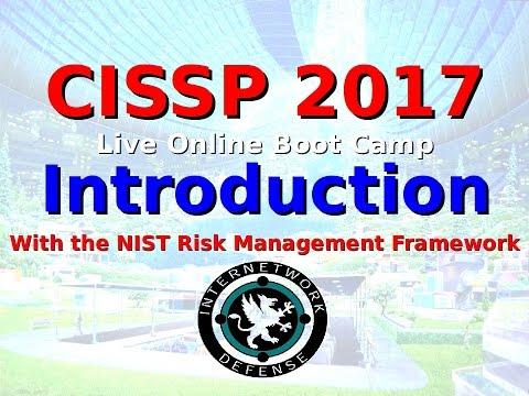Larry Greenblatt's CISSP 2017 - Intro