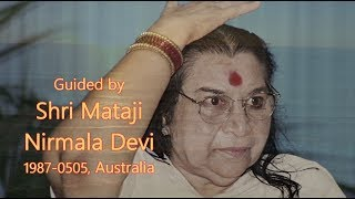 (Sahaja Yoga) 1987-0505 Guided Meditation (Subtitles)