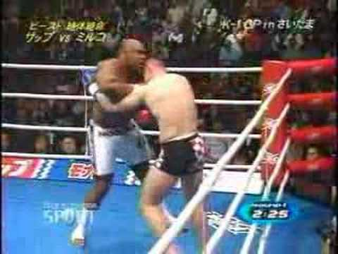 Cro Cop vs Bob Sapp - YouTube