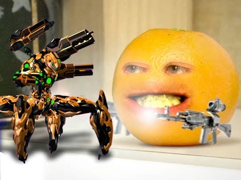 how to make an annoying orange video