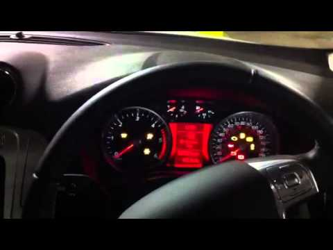 Ford Mondeo Dashboard Lights