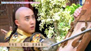 [Karaoke + Translation] New Huan Zhu Ge Ge Theme (Run to You - Zhang Rui)