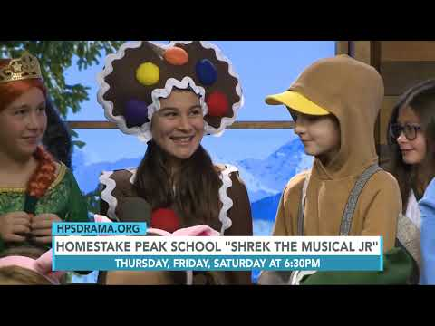 Homestake Peak School Shrek the Musical Jr 12.11.19 Good Morning Vail