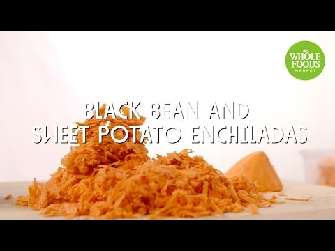 Black Bean and Sweet Potato Enchiladas | Special Diet Recipes | Whole Foods Market