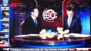 ESPNEWS Todd Grisham is a Dick