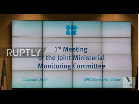 Austria: OPEC and non-OPEC energy ministers vow to cut oil output