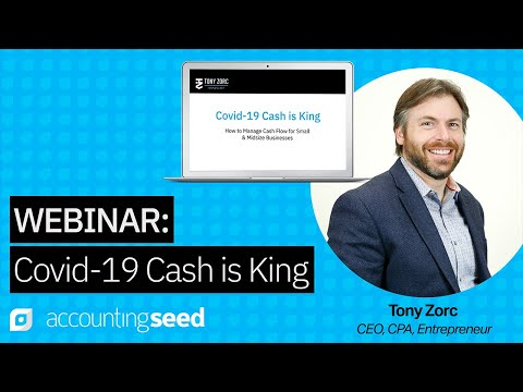 Webinar: Cash is King in COVID-19 - How to Thrive