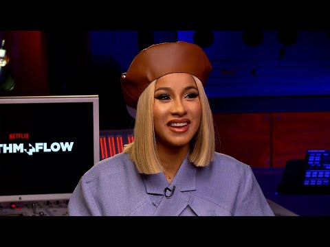 Cardi B Talks 'Rhythm + Flow' and Reacts to Super Bowl Rumors With Jennifer Lopez