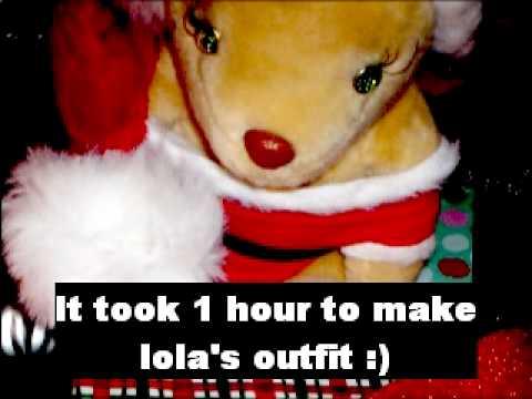 beyonce bear....and destinys child...8 days of christmas