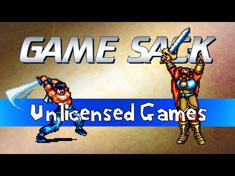 Unlicensed Games - Game Sack
